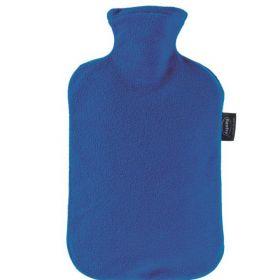 Fashy Varmeflaske Fleecetrekk Blå