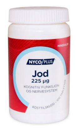 Nycoplus Jod 225mcg tabletter 100stk