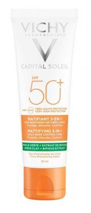 Vichy Captial Soleil Mattifying 3-in1 SPF50 50ml