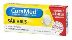 Curamed Sår Hals Sugetabletter 20stk