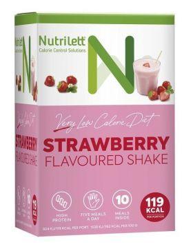 Nutrilett jordbær shake 10 x 33 g