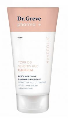 Dagkrem for sensitiv hud parfymefri 50ml