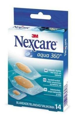 Nexcare Aqua 360 vanntett plaster 14stk