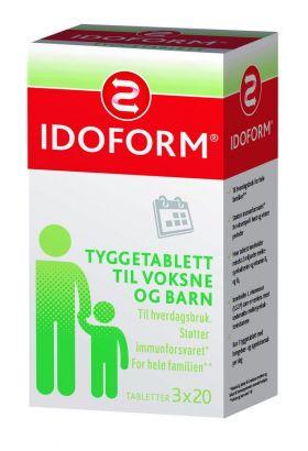Idoform Tyggetabletter 3x20stk