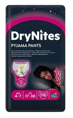 Drynites bleier jente 4-7 år 10stk