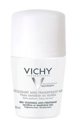 Vichy Antiperspirant deodorant 48h uten parfyme