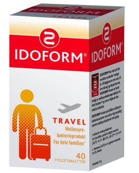 Idoform Travel tyggetabletter 40stk