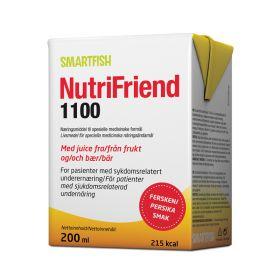 NutriFriend 1100 Fersken 200ml