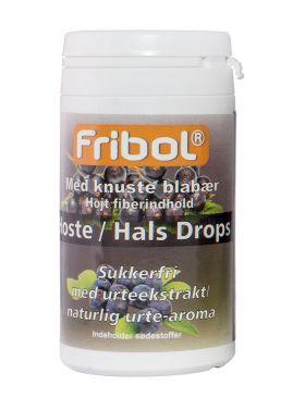 Sukkerfrie Hoste/Hals Drops Blåbær 60g