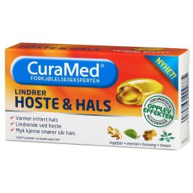 Curamed Hoste & Hals 20stk