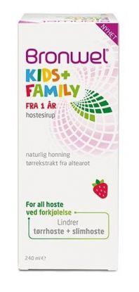 Kids+Family hostesirup 240ml