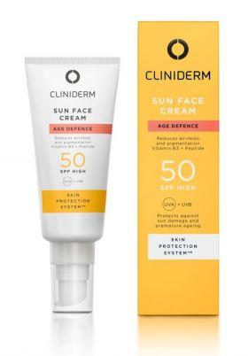 Cliniderm Age Defence Sun Face Cream SPF50 40ml