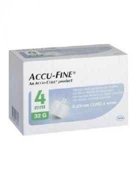 Accu-Fine Kanyle 32G 4mm 100stk