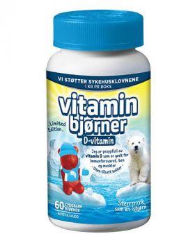 Vitaminbjørner D-Vitamin 60stk