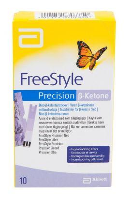 Precision B-ketone teststrimmel 10stk