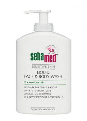 Liquid Face & Body Wash 300ml
