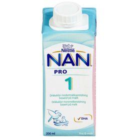 NAN PRO 1 morsmelkerstatning 200ml