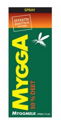 Mygga spray 50% DEET 75ml