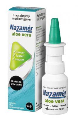 Saltvannsspray Aloe Vera 20ml