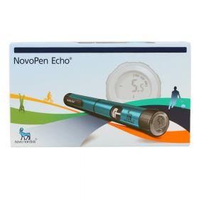 Echo insulinpenn Blå