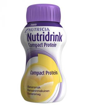 Nutridrink Compact Protein Banan 4x125ml