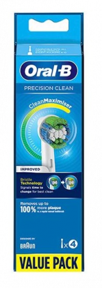 Precision Clean refill tannbørstehode 4stk