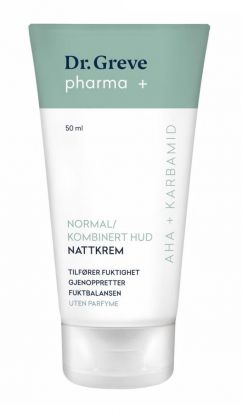 Nattkrem Normal & Kombinert Hud Parfymefri 50ml