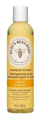 Burt's Bees Baby Sjampo og vask 235ml