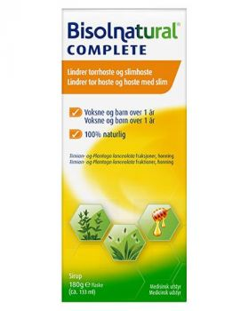 Complete hostesirup 133ml
