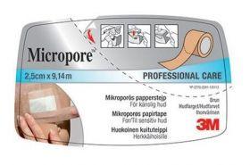 Micropore Brun Tape 2,5cm x 9,14m
