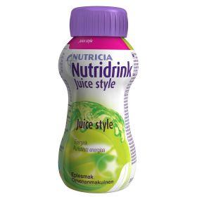 Nutridrink Juice Style Eple 200ml