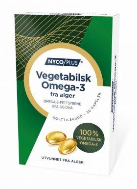 Nycoplus Vegansk Omega-3 fra alger 30stk