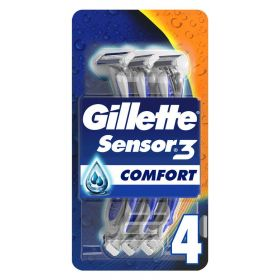 Sensor3 Comfort Men's Disposable Razors x4