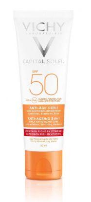 Vichy Ideal Soleil Anti-age 3i1 SPF50 50ml