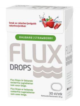 Drops Jordbær & Rabarbra 30stk