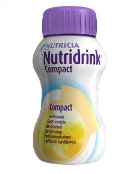 Nutridrink Compact Vanilje 4x125ml