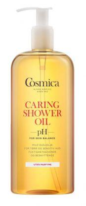 Caring Shower Oil Uten Parfyme 400ml