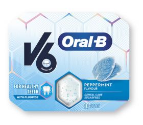 Oral-B Peppermint Tyggegummi 10stk