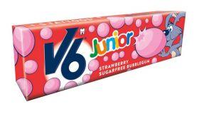 Junior Strawberry Tyggegummi