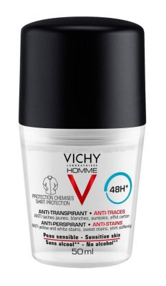 Vichy Homme Shirt Protection Deo 48H 50ml