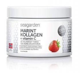 Marine Collagen + Vitamin C Jordbærsmak 150 g
