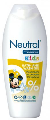 Neutral Kids Bath & Wash Gel 250ml