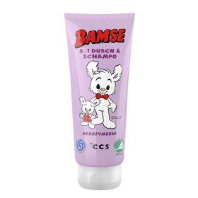 Bamse 2 i 1 Dusj og sjampo u/parfyme 200 ml
