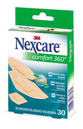 Nexcare Comfort 360 plaster 30stk