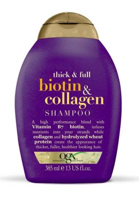 Thick & Full + Biotin & Collagen Shampo 385ml