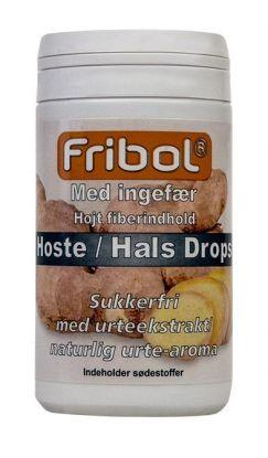 Sukkerfrie Hoste/Hals Drops Ingefær 60g