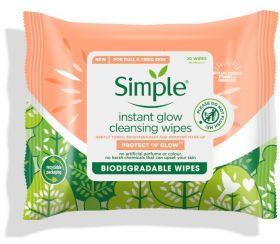 Instant Glow Bio Wipes 20stk