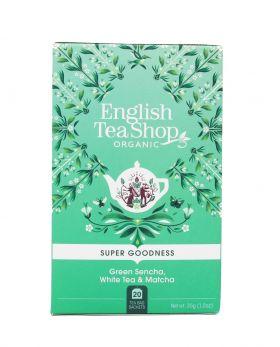 Te Green Sencha, White Tea & Matcha 20stk