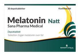 Melatonin Natt 1 mg Depottabletter 30 stk