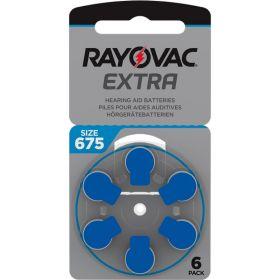 Extra Advanced Høreapparat Batteri 675, 6stk